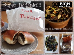 collage mossels en palingbrood